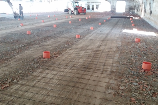 Preparazione pavimento